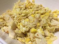 蛋炒雞肉絲