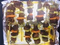 沙茶羊肉烤串串