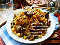 蘑菇義大利麵