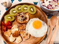 心心滿天吐司早餐