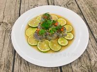 泰式檸檬蒸白帶魚卷