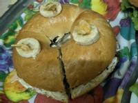 貝果(三)巧克力香蕉(甜)