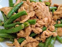 長豆炒雞胸肉