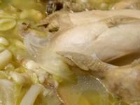 蒜頭雞湯麵線