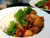 和風【馬鈴薯燉雞肉】常備家常菜_便當菜