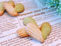 簡易小點心-抹茶奶酥雙色愛心餅乾
