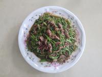 正子沙茶空心菜炒牛肉