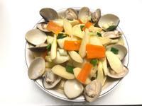 👩🏻🍳海鮮味-蛤蠣皎筊白筍