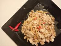 薑絲炒魚肉