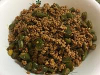 椒麻肉末四季豆