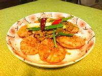 泰式咖喱蛋炒蝦