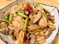 三鮮炒麵 【台式滋味】