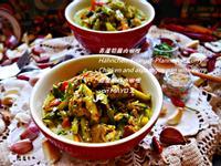 青蘆筍雞肉咖哩