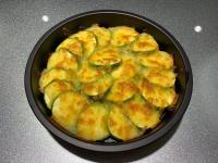 氣炸鍋-起司烤櫛瓜