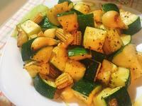 烤櫛瓜蔬菜(氣炸鍋料理)