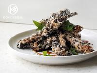芝麻脆皮烤雞柳(雞胸肉)