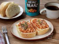 義式烤麵包|亨氏焗豆
