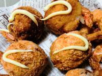 馬鈴薯起司蝦球