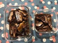 鑄鐵鍋版之醬煮秋刀魚