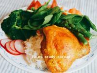 脆皮咖哩烤雞