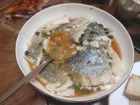 豆豉蒸鱸魚