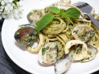 青醬蛤蜊小卷義大利麵