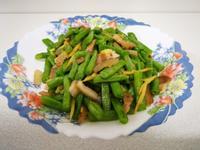 肉絲炒四季豆