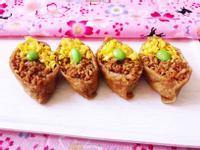 雙色紫米豆皮壽司(便當/野餐/輕食)
