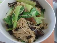醬炒菇菇青江菜 (生酮/低醣)