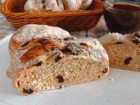 葡萄乾裸麥麵包(低糖低油版)