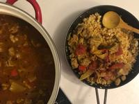 低碳 偽牛肉麵、偽飯:番茄燉牛腩