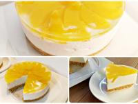免烤箱蜜桃起司蛋糕