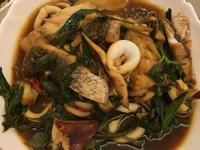 醬炒雙鮮(魚肉、透抽)