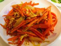 快速上菜:胡蘿蔔洋蔥炒蛋