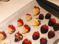 草莓巧克力糖衣