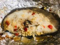 《氣炸鍋料理》🐟蒜香烤鱈魚