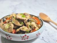 減重料理!豆腐炒雞肉