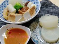 關東煮(自製醬汁)