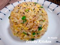 素肉鮪魚蛋炒飯