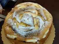 玫瑰花戚風蛋糕