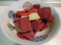 日式煮蘋果紅蒟蒻