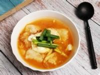 韓式泡菜蘿蔔糕湯