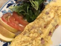 簡單早午餐火腿歐姆蛋