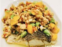 [幼兒料理]鮮蔬肉燥淋鱸魚