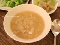 洋蔥碎肉湯(旅行料理)
