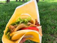 Pancake漢堡 野餐食譜