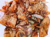 日式洋蔥燒肉
