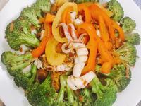 海鮮青蔬拌炒干貝醬