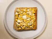【懶】玉米蛋沙拉吐司(早餐)