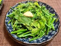 蒜炒龍鬚菜